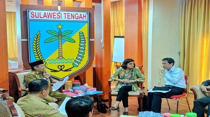 Para Kepala Lembaga Pbb Tinjau Langsung Bantuan Penanganan Pascabencana Di Sulteng Tribun Palu