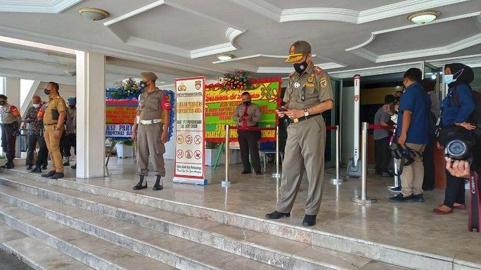 Jumlah Tamu Sertijab Gubernur Sulawesi Tengah Dibatasi