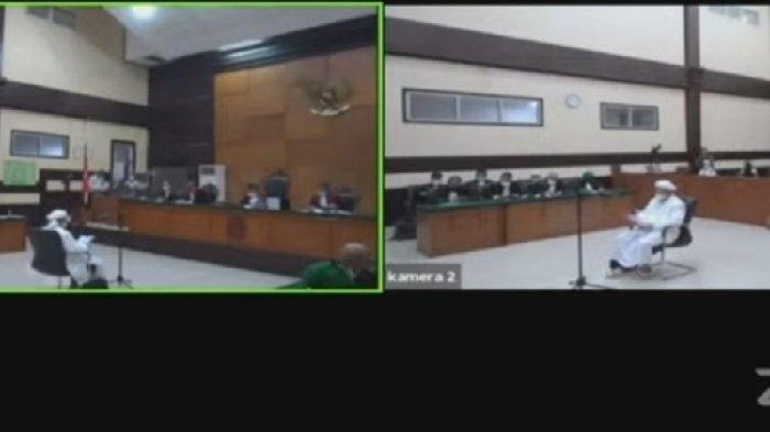 Cegah Persekongkolan Para Saksi, Live Streaming Sidang Lanjutan Habib Rizieq Shihab Ditiadakan