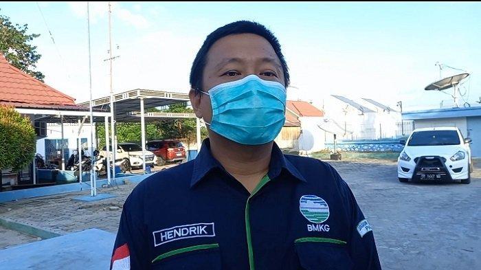 Sub Koordinator Data dan Informasi BMKG Stasiun Geofisika Kelas l Palu, Hendrik Leopatty
