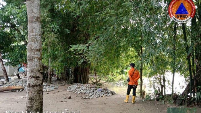 Banjir di Desa Sibalago Parimo, 109 KK Terisolir dan 1 Jembatan Putus