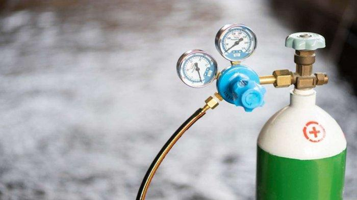 PSMTI Sulteng dan PT Aneka Gas Industri Berikan Oksigen untuk Warga Isolasi Mandiri