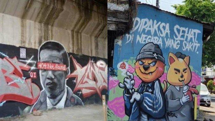 Tak Hanya Jokowi: 404 Not Found, Ini 4 Mural Viral yang Telah Dihapus dalam Waktu Sebulan