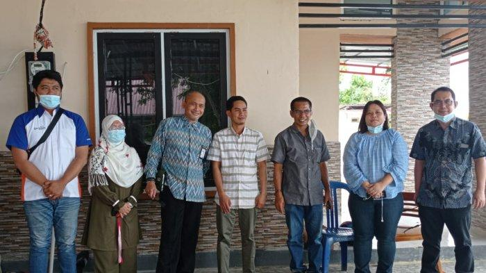 Ketua DPRD Donggala Sambut Direksi TribunNetwork