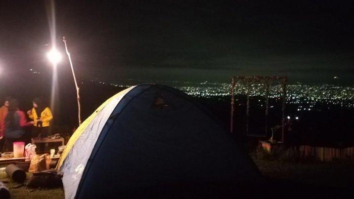 Taman Bunga Matahari Tabingga Hills Sigi Tawarkan Sensasi Bermalam di Tenda