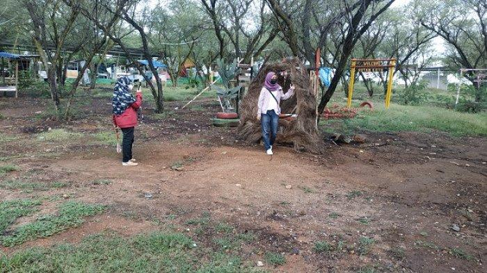 Wisata Taman Hutan Kota Palu Tutup Selama PPKM Level 4, Begini Curhat Pedagang