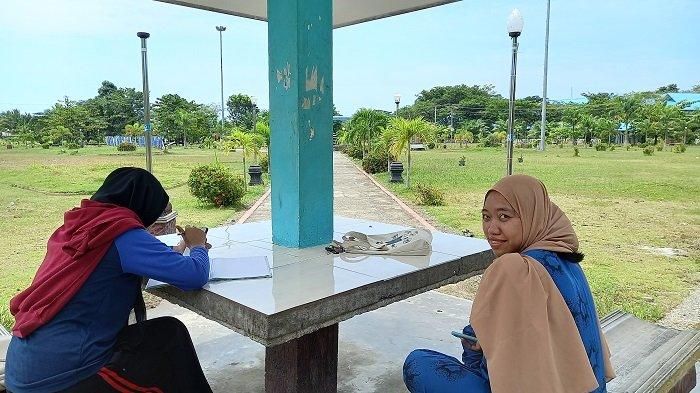 Taman Kota Fonuasingko di Jl Trans Sulawesi, Kelurahan Bente, Kecamatan Bungku Tengah, Kabupaten Morowali, Sulawesi Tengah