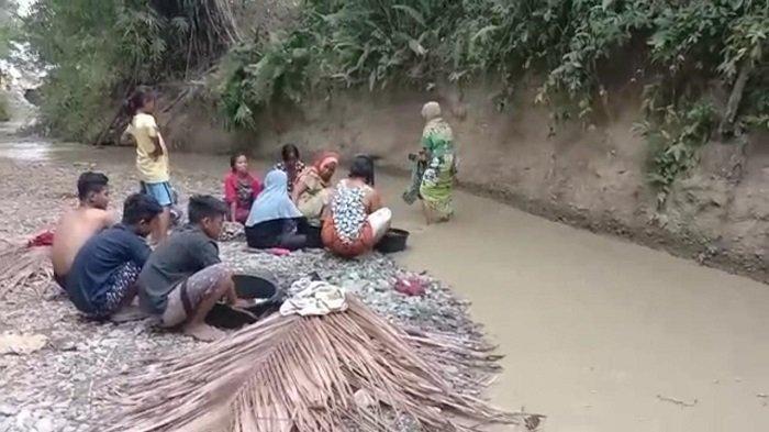 Dampak Penambangan Emas, Warga di Desa Buranga Parimo Kehilangan Air Bersih