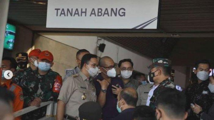 Selama Periode Larangan Mudik, Pusat Perbelanjaan di Jakarta Terpantau oleh Petugas Gabungan