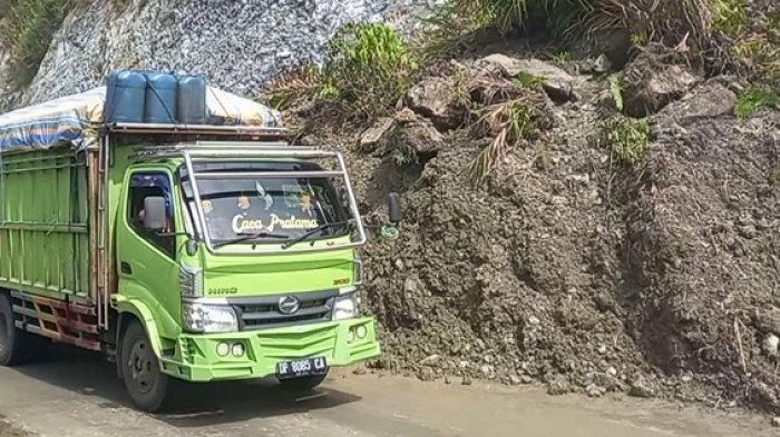 Akses Jalur Kebun Kopi Sudah Bisa Dilalui, Pasca Putus Total 2 Jam karena Tertutup Longsor