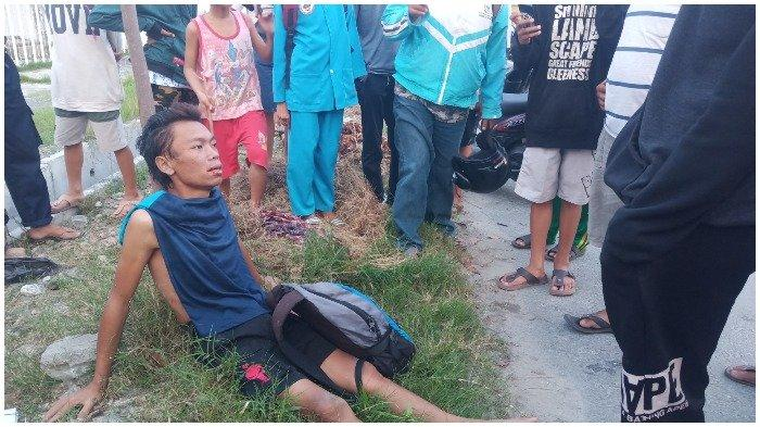 Pria Tanpa Busana Terbaring di Drainase Gegerkan Warga Kelurahan Lere, Palu Barat