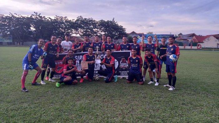 SDM FC Raih Juara 1 Trafeo Cup, Manager Harap Pemkot Hidupkan Sepakbola Palu