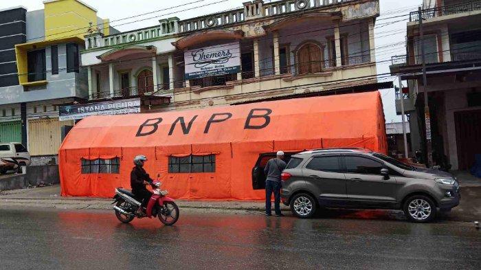 BPBD Palu Siapkan Tenda Darurat untuk Korban Banjir di Bibir Sungai Palu
