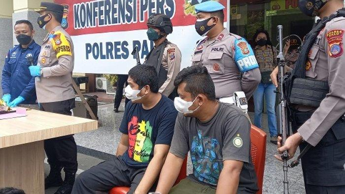 Dua Terduga Bandar Sabu di Perumahan Lapas Palu Terancam Penjara Paling Singkat 5 Tahun