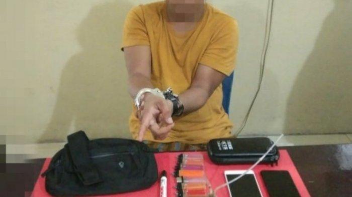 Pria di Parigi Moutong Ditangkap karena Memiliki 40 Paket Sabu Ukuran Kecil