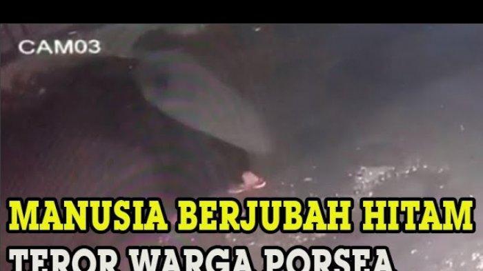 Warga Toba Samosir, Sumatera Utara Dihebohkan Teror Pria Berjubah Hitam yang Ingin Bakar Rumah!