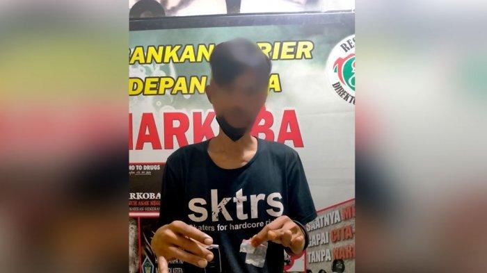 Polres Banggai Ciduk Pengedar Narkoba Asal Toili, Diduga Kerap Transaksi Sabu di Kelurahan Cendana