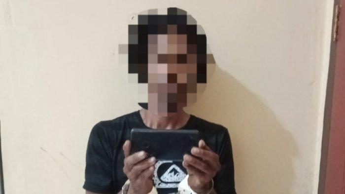 Bobol Rumah di Kalukubula lalu Gasak Handphone, Pria di Sigi Digelandang ke Kantor Polisi