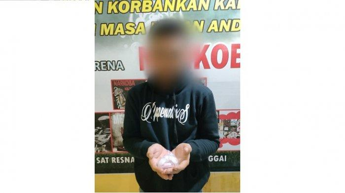 Tersangka Pengedar Narkoba di Luwuk Diringkus, Polisi Temukan 39 Paket Sabu