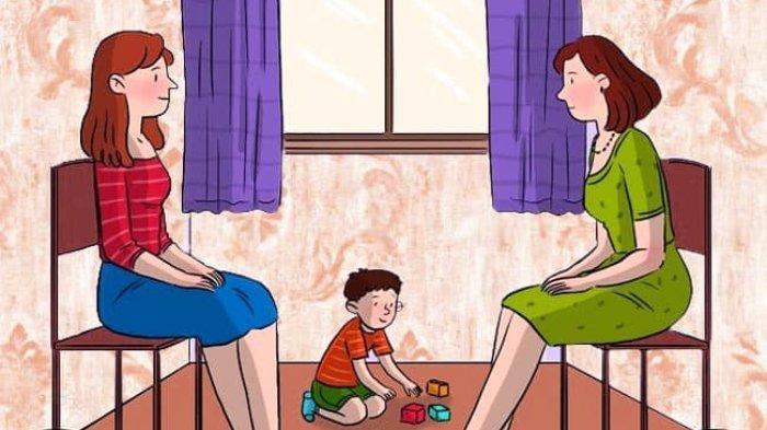 Tes Kepribadian: Siapakah Ibu Asli dari Si Anak? Hanya Ada Satu Jawaban yang Tepat