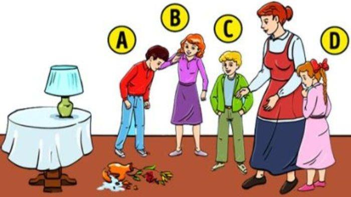 Tes Kepribadian: Siapa yang Pecahkan Vas Menurutmu? Pilihanmu Akan Ungkap Karakter Aslimu!