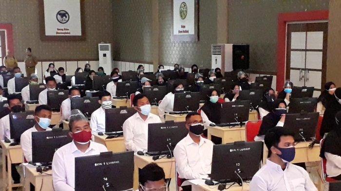 Tes SKD CPNS Banggai Molor 1 Jam karena Gangguan Jaringan Internet