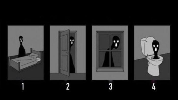 Tes Kepribadian: Mana yang Bikin Kamu Takut saat Sendiri di Ruang Gelap? Lihat Kecemasan Terbesarmu!