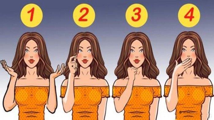 Menurutmu mana wanita yang berusaha berbohong dan tampak mencurigakan? Pilihanmu bakal ungkap kepekaanmu membaca bahasa tubuh. Cobain tes ini yuk!