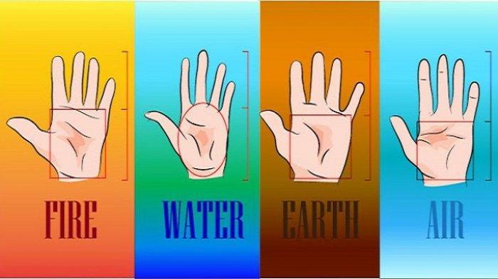 Tes Kepribadian: Cek Bentuk Telapak Tanganmu! Bakal Ungkap Karaktermu, Elemen Air Suka Berimajinasi