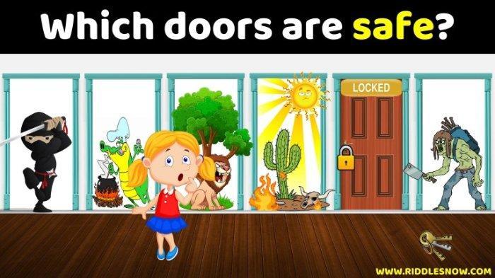 Tes Logika: Jika Kamu Terjebak pada 3 Situasi Genting Ini, Pintu Pilihanmu Bakal Ungkap Kecerdasanmu