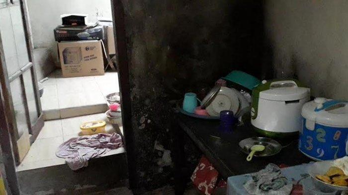 Anak Histeris Warga Kira Tumpukan Kain Terbakar, Ternyata Jasad Wanita Dibakar Mantan Suaminya