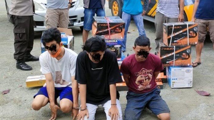 3 Remaja di Palu Diciduk Polisi Terkait Kasus Pencurian, 1 di Antaranya Umur 16 Tahun