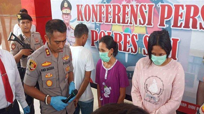 Polisi Tangkap 3 Terduga Pengedar Sabu-sabu di Sigi, Dua di antaranya Perempuan