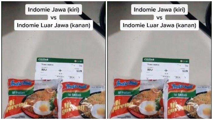 Penjelasan Pengunggah Video TikTok Indomie yang Dijual di Jawa Berbeda dari yang di Luar Jawa