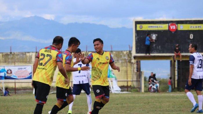 Pesta Gol 9-1 di Ajang Kapolda Cup, DREGD Sulteng Torehkan Rekor