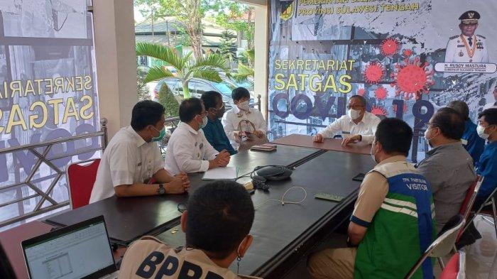 Sekretariat Covid-19 Sulteng Minta Penyaluran Oksigen Bantuan PT IMIP Merata ke Semua Rumah Sakit