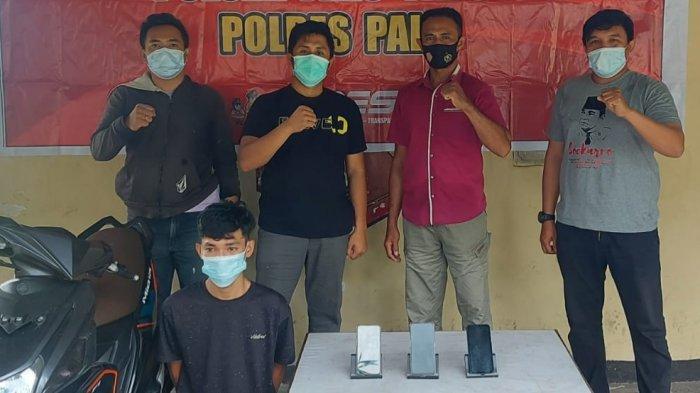 Spesialis Pencuri Handphone di Palu Diringkus di Indekos Jl Lentora Mamboro