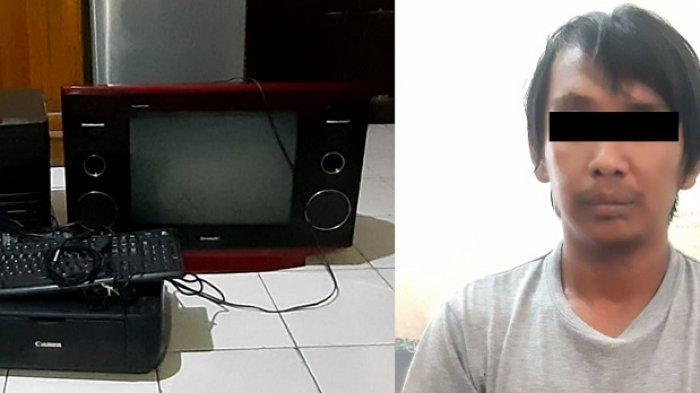 Gandet, Pria Asal Palu Nekat Curi Barang Elektronik Kantor Kelurahan Besusu Barat