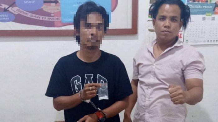 Diduga Bawa Sabu saat Melintas di Kelurahan Lambara, Pemuda Tawaeli Diringkus Polisi