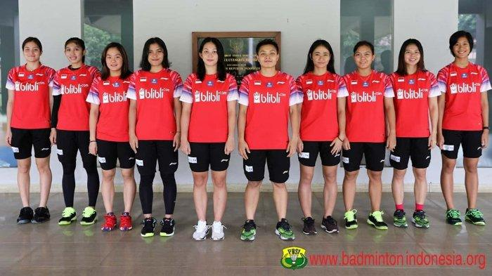 Daftar Pemain Tim Putri Vs Thailand di Badminton Asia Team Championships 2020; Greysia Polii Absen