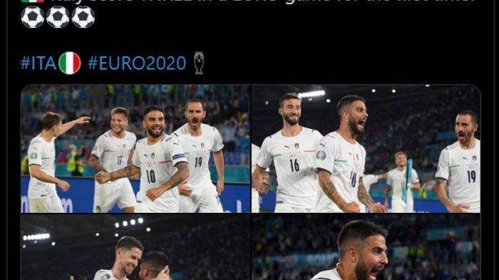 Hasil Euro 2020 - Turki Dibantai Italia 0-3, Gol Pembuka Turnamen Terjadi ke Gawang Sendiri