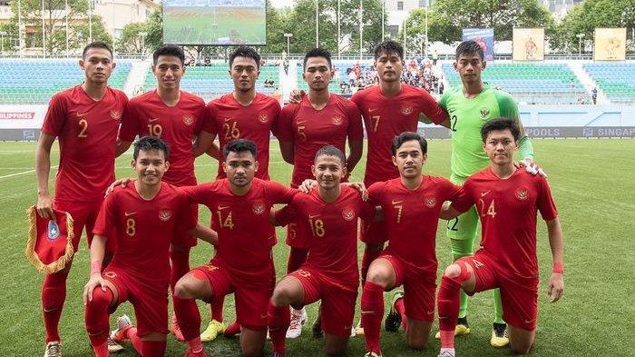 Link Live Streaming Timnas U-23 Indonesia Vs Iran dari Stadion Pakansari, Kickoff 16.30 WIB