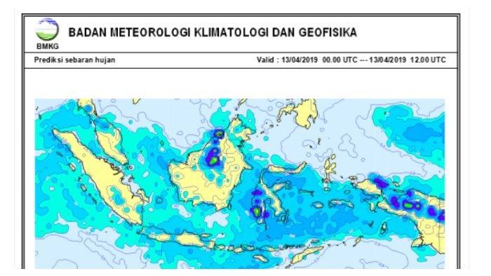 Waspadai Potensi Cuaca Eksrem di Sejumlah Wilayah Indonesia Satu Pekan ke Depan