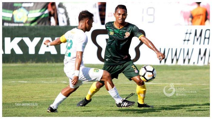 Belum 2 Menit,Gol Manu Zhalilov Bawa Persebaya Ungguli Tira Persikabo di 8 Besar Piala Presiden 2019