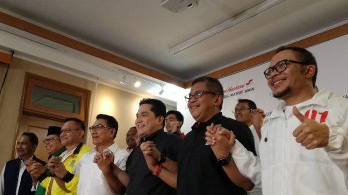 Tetap Hormati Hasil Resmi KPU, TKN Akhirnya Klaim Kemenangan Joko Widodo-Maruf Amin, Apa Alasannya?