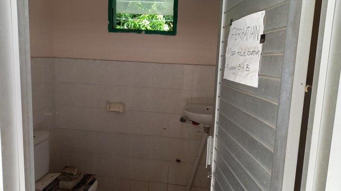 2 Toilet Masjid DPRD Sulteng Tak Terawat, Bandingkan dengan BPOM
