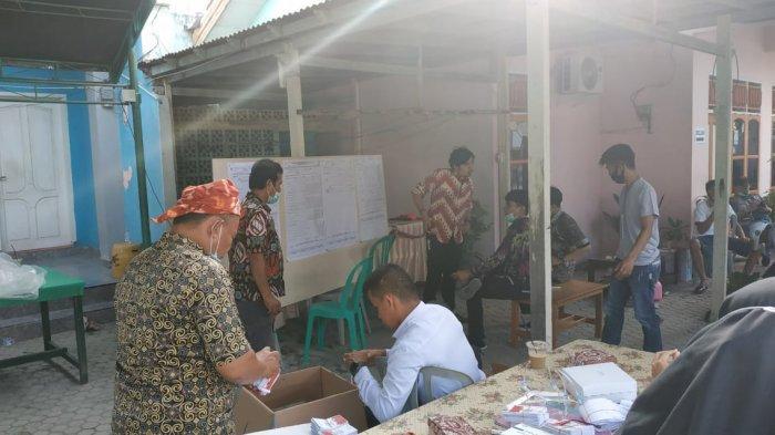 Incumbent Calon Wali Kota Palu Hidayat Unggul di TPS 05 Tavanjuka