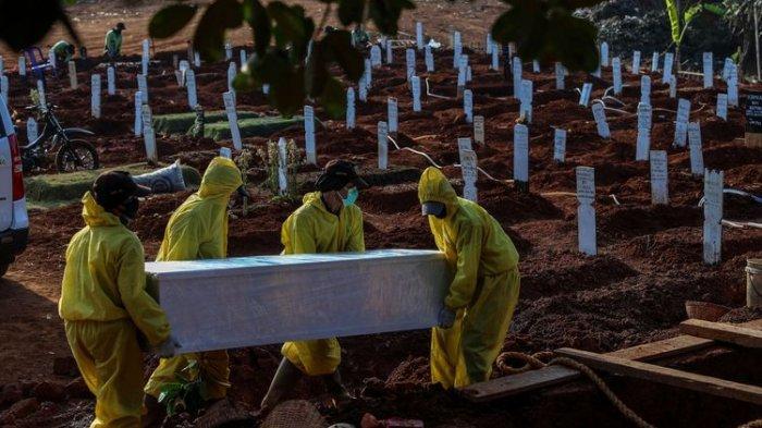 Sejumlah Kuburan di TPU Ini Dibongkar & Jenazahnya Dipindahkan setelah Hasil Swab Dinyatakan Negatif