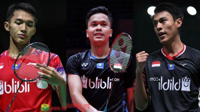 Tunggal Putra Tersisa Rhustavito, Anthony Ginting dan 2 Wakil Indonesia Mundur dari Swiss Open 2021