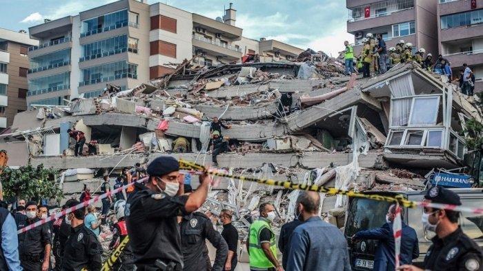 7 Fakta Gempa Bumi di Turki 30 Oktober 2020: Guncangan Luas, Ada Lebih dari 100 Gempa Susulan